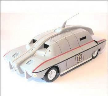 Captain Scarlet MSV GRP Model Kit UNCL Models